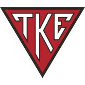 Tau Kappa Epsilon Stained Cornhole Set with Bags