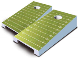 Football Tabletop Cornhole Set with Bags