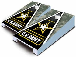 Army Tabletop Cornhole Set with Bags