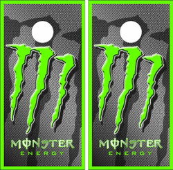 Monster Energy Cornhole Wraps