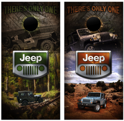 Jeep Cornhole Wraps