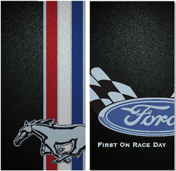 Ford Race Day Cornhole Wraps