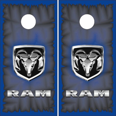 dodge ram cornhole wraps - Cornhole Board Wraps
