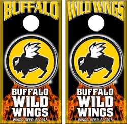 Buffalo Wild Wings Cornhole Wraps