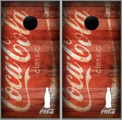 Coca-Cola Cornhole Wraps