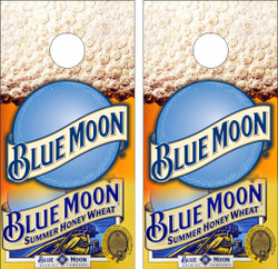 Blue Moon Cornhole Wraps