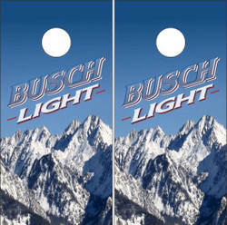 Busch Light Cornhole Wraps
