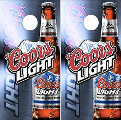 Coors Light Cornhole Wraps