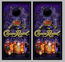 Crown Royal Cornhole Wraps