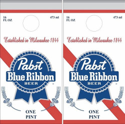 Pabst Blue Ribbon Cornhole Wraps