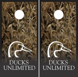 Ducks Unlimited Cornhole Wraps