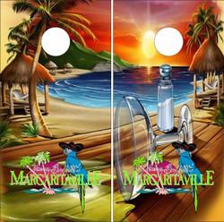 Margaritaville Cornhole Wraps