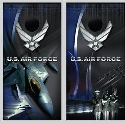 U.S. Air Force Cornhole Wraps