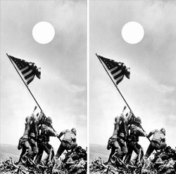 Battle of Iwo Jima Cornhole Wraps