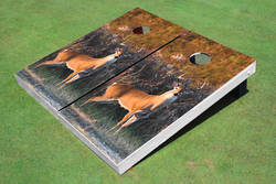 Standing Deer Cornhole Set with Bags