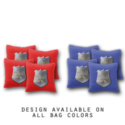Respect the Badge Cornhole Bags - Set of 8