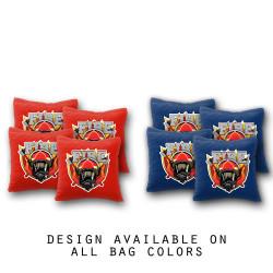 Firefighter Cornhole Bags - Set of 8