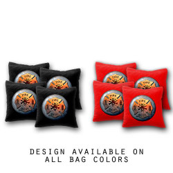 Fire Department Cornhole Bags - Set of 8