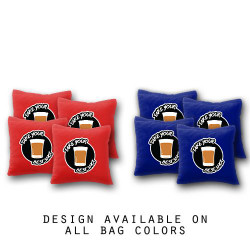 Take Your Best Shot Cornhole Bags - Set of 8