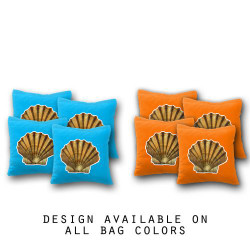 Clamshell Cornhole Bags - Set of 8