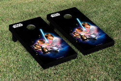 Star Wars Episode IV Cornhole Set with Bags