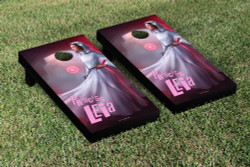 Star Wars Princess Leia Cornhole Set with Bags