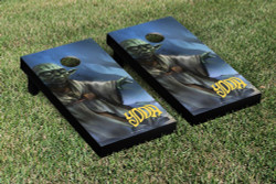 Star Wars Yoda Cornhole Set with Bags
