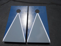 Premium Pyramid Cornhole Set with Bags