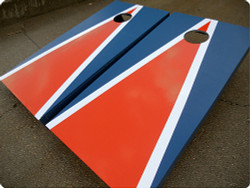 Chicago Bears Themed Cornhole Set with Bags
