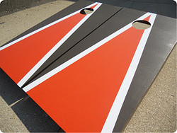 Cleveland Browns Themed Cornhole Set with Bags