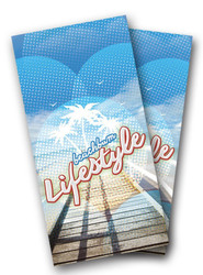 Beach Bum Lifestyle Cornhole Wraps