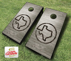 Texas Branded Cornhole Set with Bags