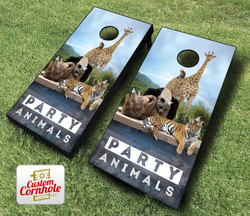 Party Animals Cornhole Set with Bags