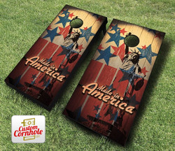 Made in America Cornhole Set with Bags