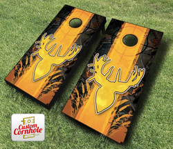 Deer Sportsman Cornhole Set with Bags