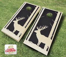 Buck Woods Stained Cornhole Set with Bags
