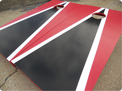 Tampa Bay Buccaneers Themed Cornhole Set with Bags