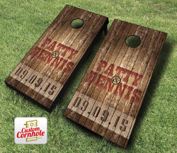 Country Rustic Wedding Cornhole Set with Bags