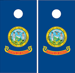 Idaho Flag Cornhole Set with Bags