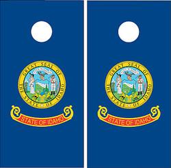 Idaho Flag Cornhole Set with Bags