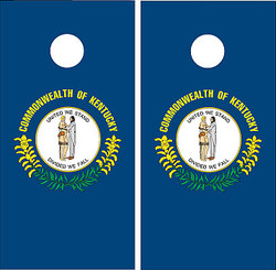 Kentucky Flag Cornhole Set with Bags
