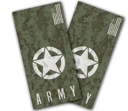 Army Digital Camo Cornhole Wraps