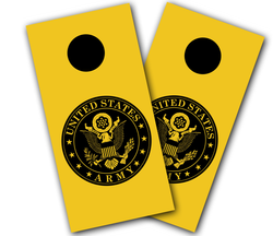 Army Seal Cornhole Wraps