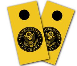 Army Seal Cornhole Wraps