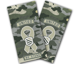 United We Stand Cornhole Wraps