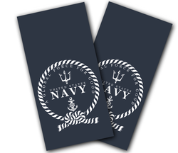 Navy Global Force for Good Cornhole Wraps