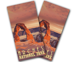 Arches National Park Cornhole Wraps