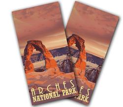 Arches National Park Cornhole Wraps