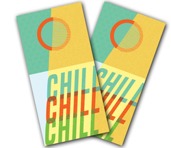 Chill Cornhole Wraps