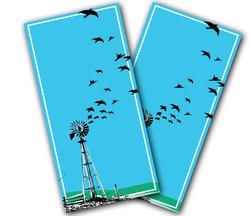 Crop Crows Cornhole Wraps
